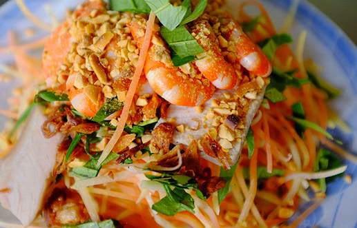 Salade de la papaye verte