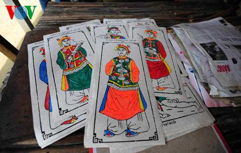 Les estampes du village de Sinh