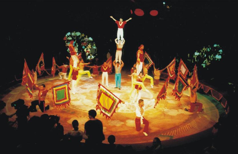 Le cirque au Vietnam