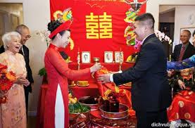 Le mariage au Vietnam
