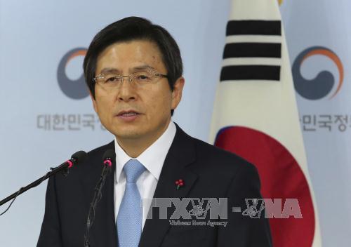 République de Corée: Le président par intérim défend le THAAD