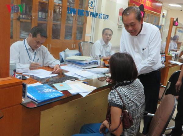 Quang Ninh: Publication de l'indice de la compétitivité au niveau local de 2017