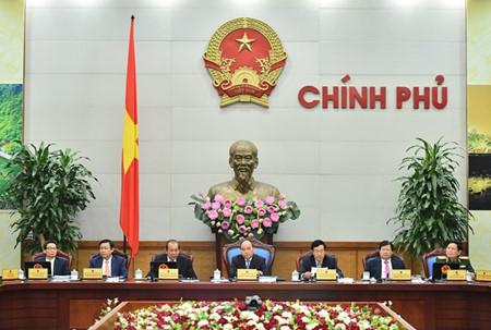 Le Vietnam continue en 2017 d'édifier un  gouvernement intègre et réactif
