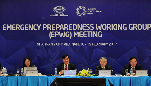 APEC 2017: 11ème session du groupe de travail sur la confrontation aux situations d'urgence