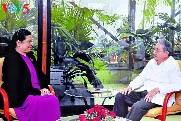 Tong Thi Phong termine avec succès sa visite à Cuba