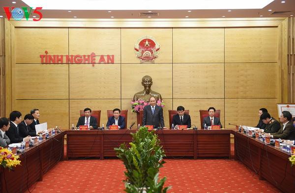 PM: Nghê An doit devenir une province prospère en 2025