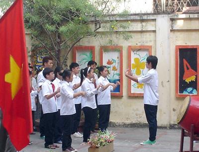 Ecoles pour les enfants sourds-muets à Hanoi
