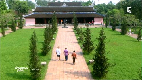 法国电视台制作越南旅游宣传片