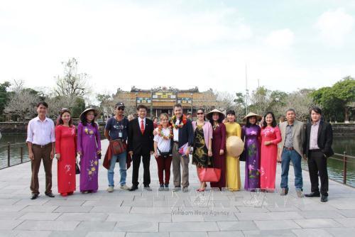 丁酉春节假期顺化古都遗迹共接待7万人次游客