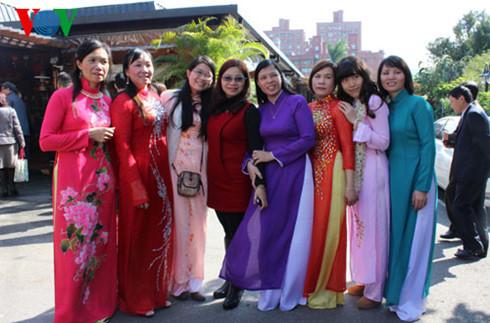 旅居中国台湾越南人共同体努力维护和推广越南语