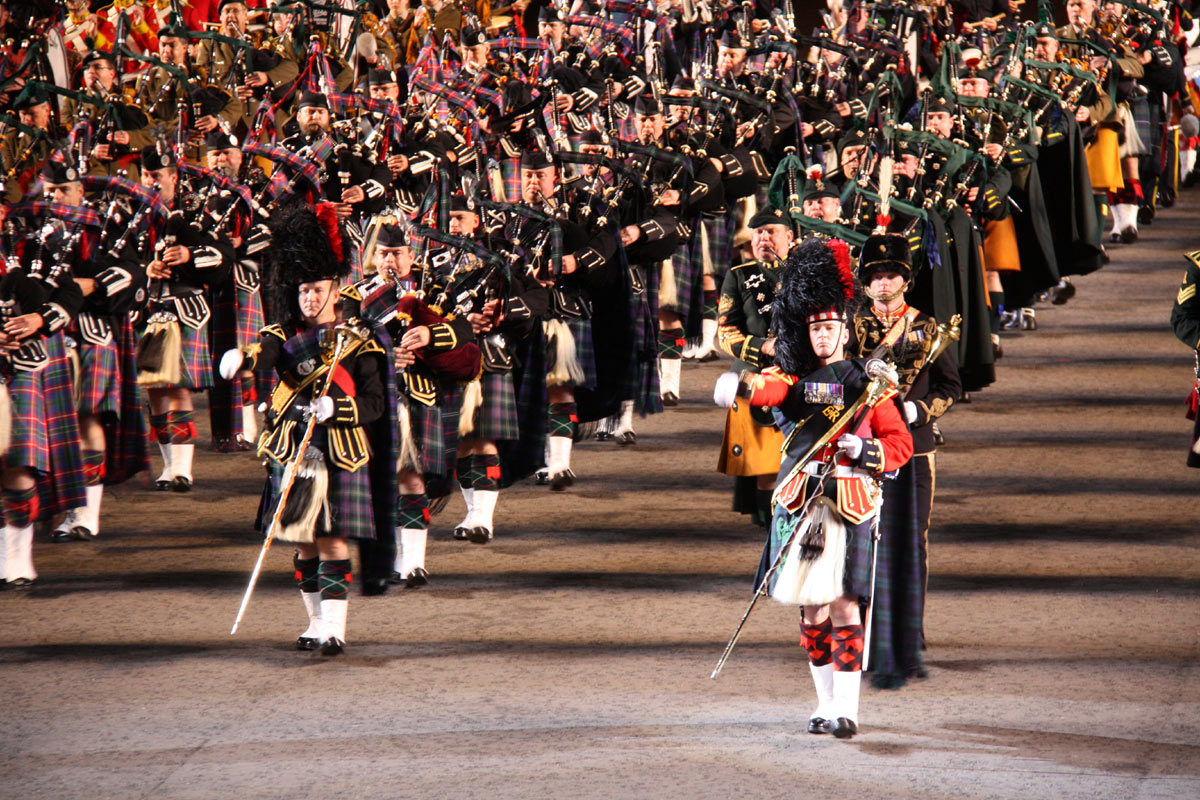 Scottish Royal Military Tattoo – iconic and spectacular