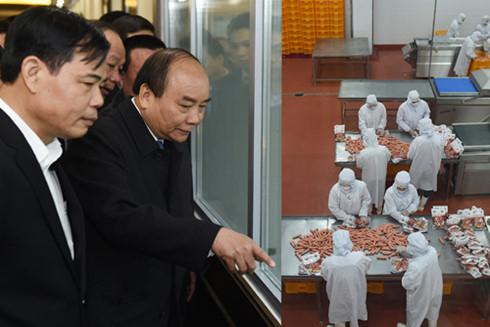PM Nguyen Xuan Phuc visits several production facilities in Bac Ninh province