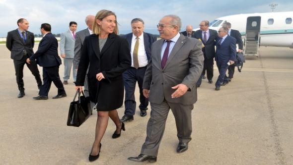 EU official visits Algeria