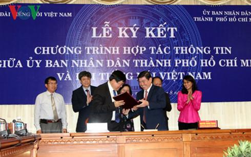 Đài Tiếng nói Việt Nam hợp tác tuyên truyền với Ủy ban nhân dân thành phố Hồ Chí Minh