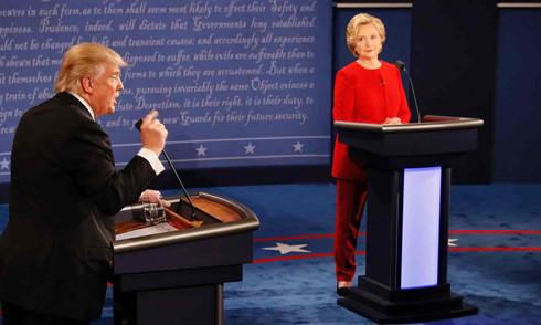 Tranh luận trực tiếp, thời điểm quyết định lá phiếu cử tri  trong cuộc bầu cử Tổng thống Mỹ