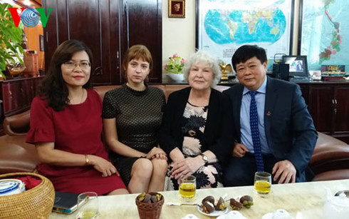Phát thanh viên Nga Tatina Rumyantseva: Đến VOV tôi như được về nhà