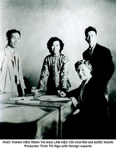Vĩnh biệt bà Trịnh Thị Ngọ - nữ phát thanh viên tiếng Anh huyền thoại