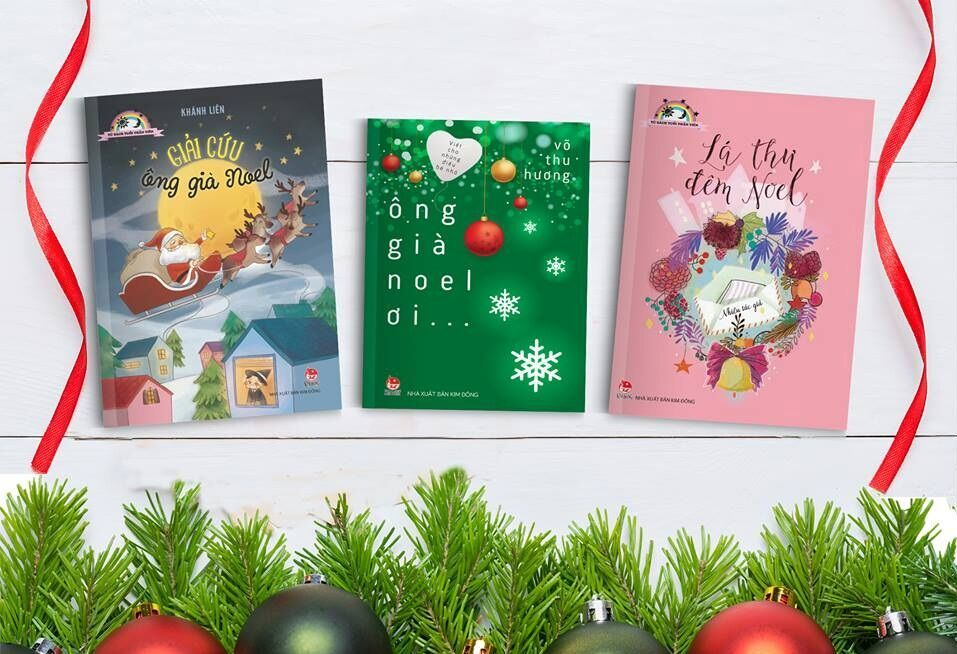 Những cuốn sách yêu thương mùa Giáng sinh