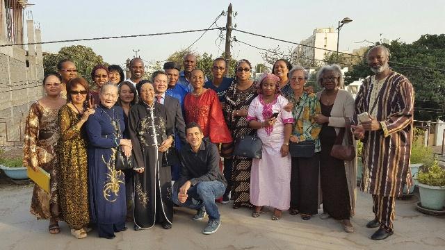 Đại sứ quán Việt Nam gặp gỡ, chúc Tết cộng đồng người Việt ở Senegal