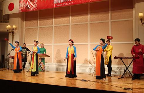 Cộng đồng người Việt tại Kansai, Nhật Bản vui đón Xuân Đinh Dậu 2017