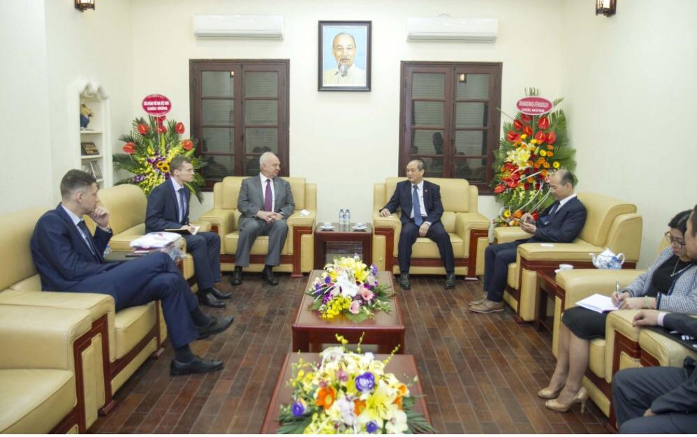 Việt Nam và Liên bang Nga tăng cường hợp tác trên lĩnh vực thể thao
