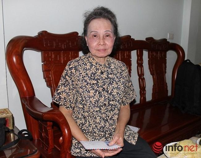 Frau Ta Thi Ngoc Thanh engagiert sich für wohltätige Zwecke
