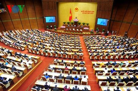 Das Parlament verbessert die Arbeit im Jahr 2016