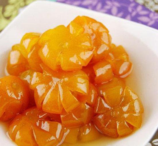 Kandierte Kumquats für das Neujahrsfest Tet