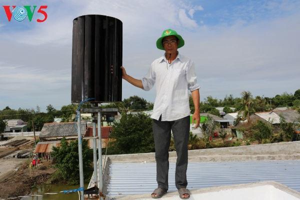 Erfindungen von Nguyen Hoang Nam unterstützen die Bauern