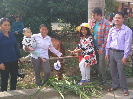 Der Verein Mang Non-Bambussprossen unterstützt Bauern in der Gemeinde Yen Lap in Phu Tho