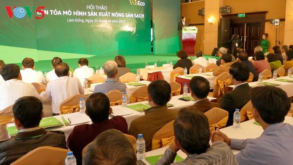 Programm zur Begleitung der Bauern bei der Produktion