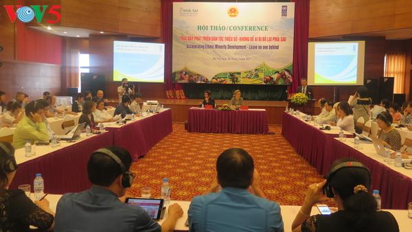 Förderung der Entwicklung der ethnischen Minderheiten
