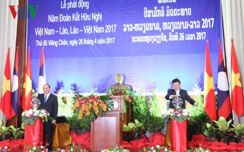 Jahr der Solidarität und Freundschaft zwischen Vietnam und Laos gestartet