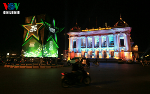 Christmas in Hanoi