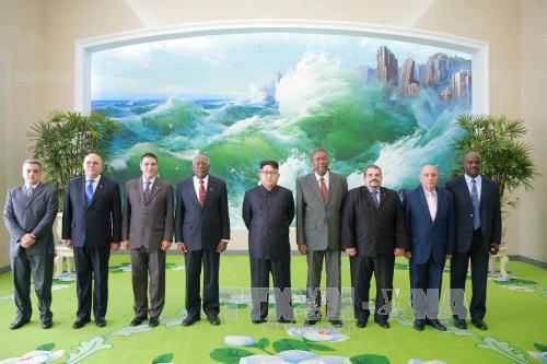 สาธารณรัฐประชาธิปไตยประชาชนเกาหลีและคิวบากระชับความสัมพันธ์มิตรภาพที่มีมาช้านาน