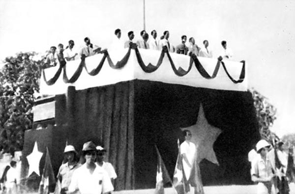 การสถาปนาประเทศสาธารณรัฐประชาธิปไตยเวียดนาม