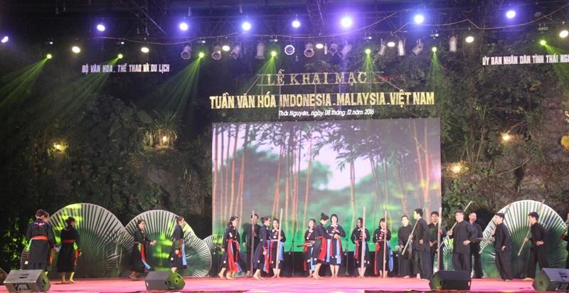 เปิดสัปดาห์วัฒนธรรมมาเลเซีย-อินโดนีเซีย-เวียดนาม