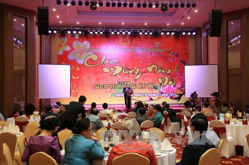 สมาคมชาวเวียดนามในแขวงเชียงขวางกระชับความสามัคคีพิเศษเวียดนาม-ลาว
