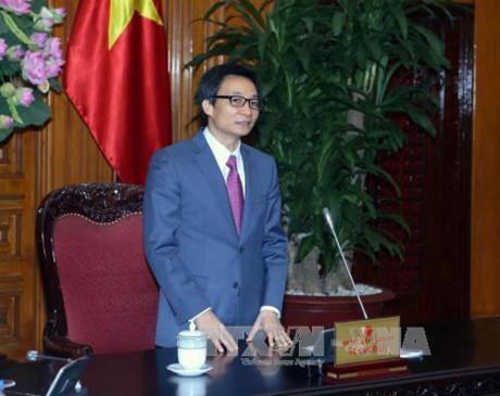 รองนายกรัฐมนตรี หวูดึ๊กดาม เข้าร่วมพิธีเปิดศูนย์นวัตกรรมของเครือบริษัทเทคโนโลยี CMC