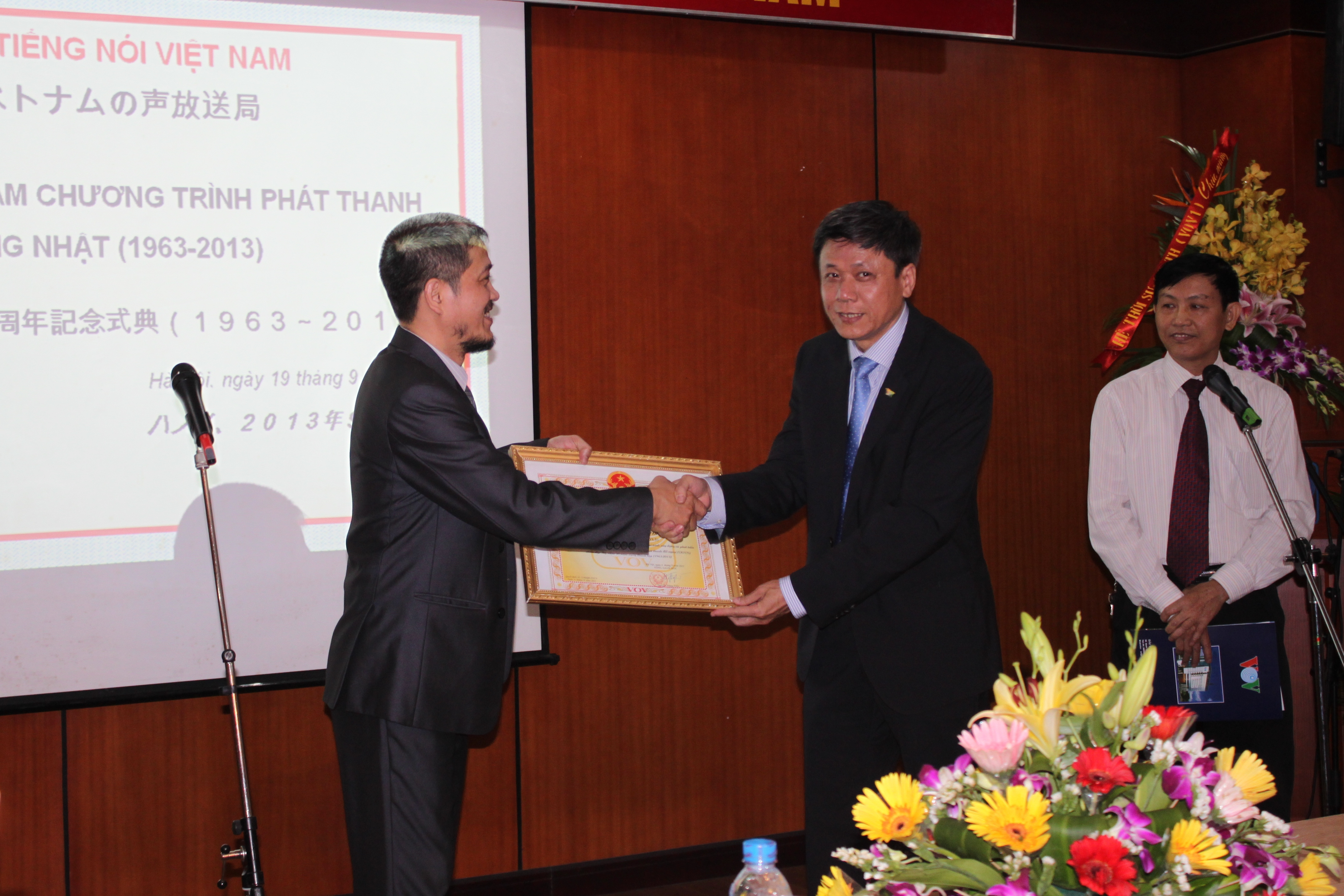 VOV's Japanese section celebrates 50th anniversary