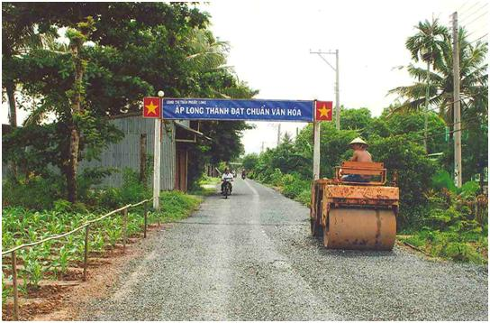 Mobilizing people's strength in new rural development in Phuoc Long
