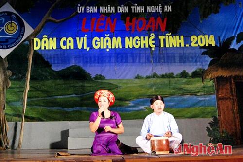Vi-Giam folk singing- Representative Heritage of Humanity