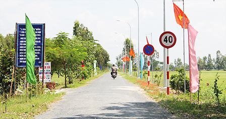 New rural development in Thanh Thang, Can Tho