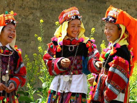 The Red Dao ethnic group in Ta Phin