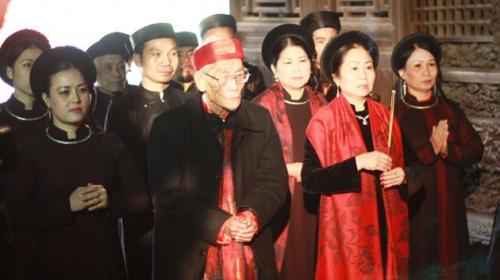Restoring Cua Dinh folk singing