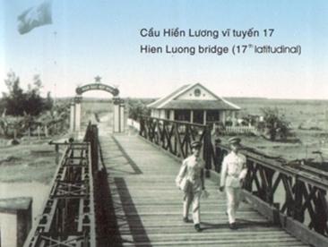 Hien luong bridge- a span of reunification