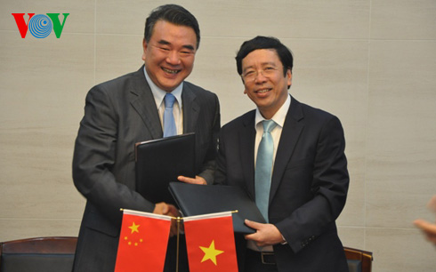 Vietnam, China enhance ties in radio broadcasting
