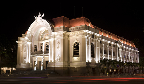 Municipal Theater in Ho Chi Minh City