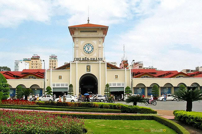 Ben Thanh market in HCM City