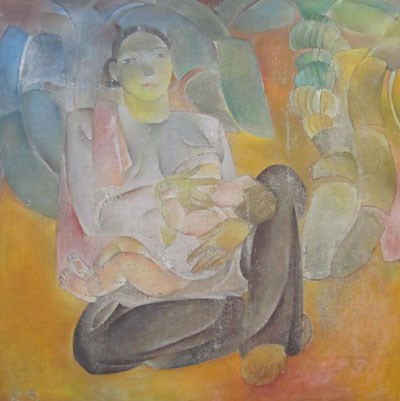Restoring famous Vietnamese paintings